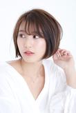 30代40代★大人かわいい小顔見せヘア☆ふんわりボブディ
